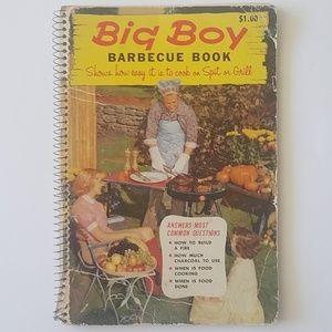 Vintage 1957 Big Boy barbecue book